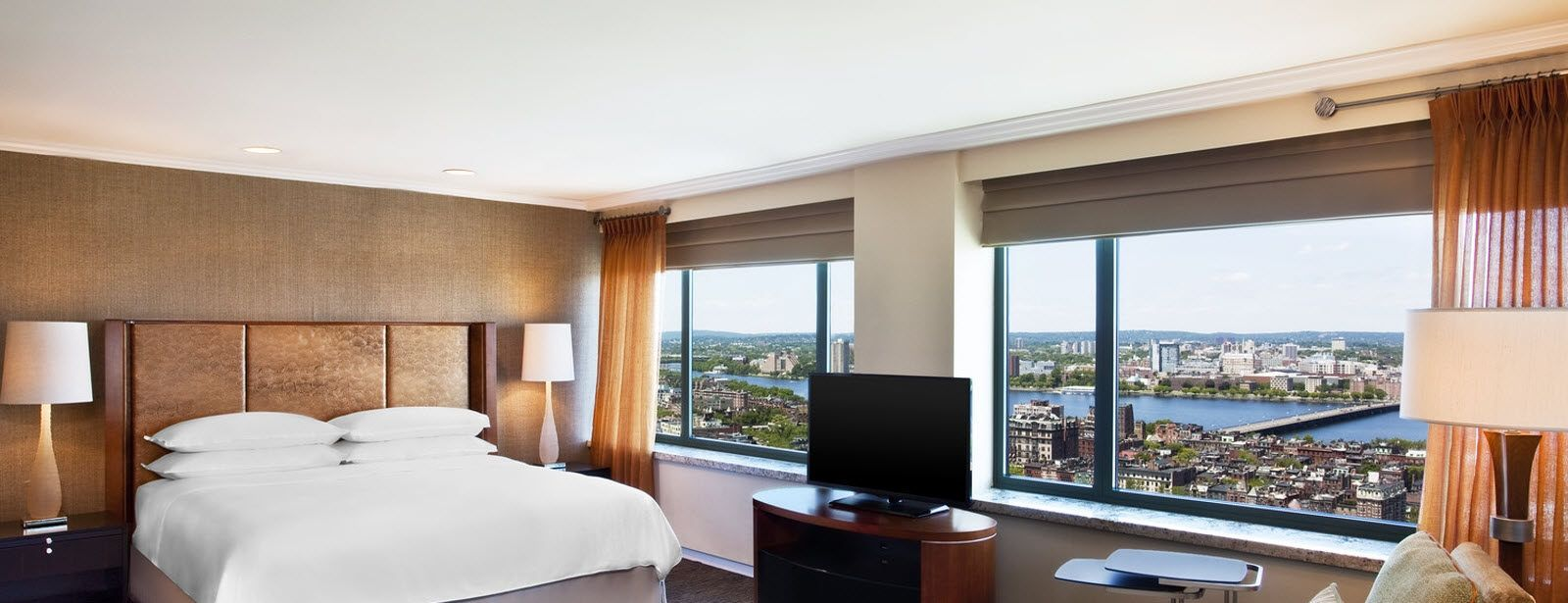 Sheraton Boston Hotel luxury suites view
