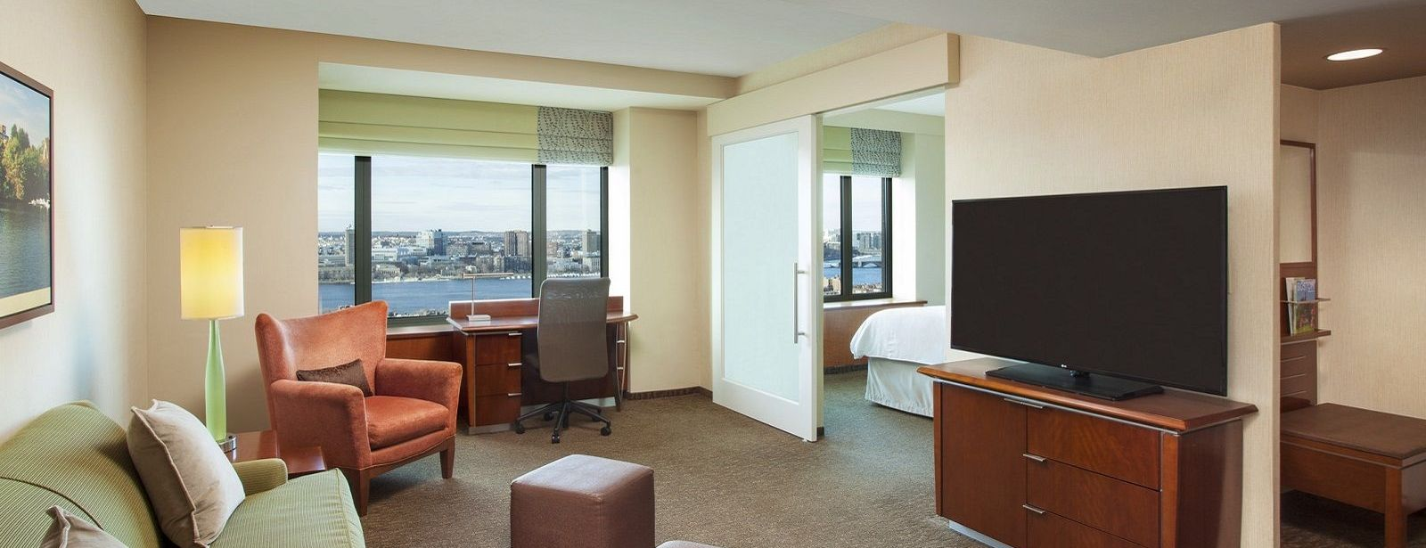 Sheraton Boston Hotel Club Executive Suite